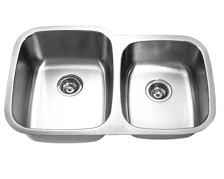 Undermount, Double Kitchen Sink (60/40), MODEL: 503CL