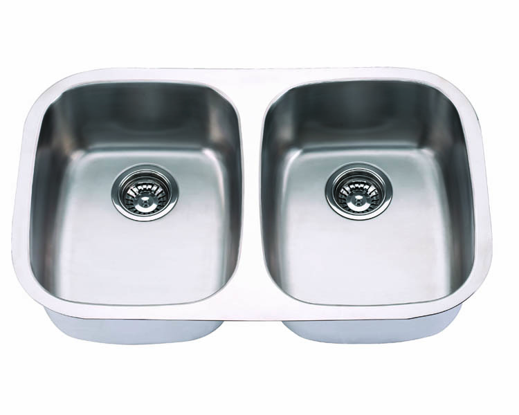 "Undermount, 29"" Double Kitchen Sink (50/50), MODEL: 505"