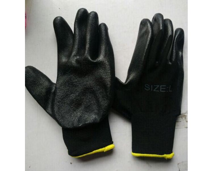 Nitrile gloves WNF-006 black