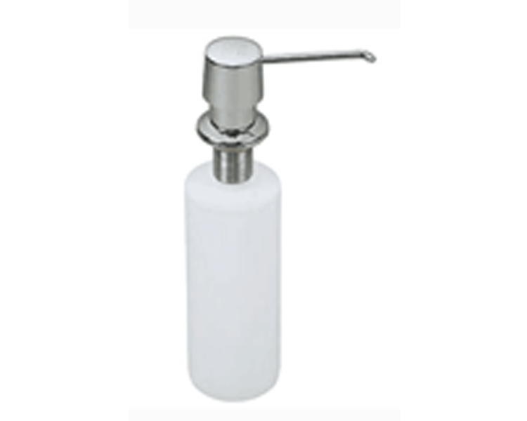 Brushed Nickel Finish Soap Dispenser - UEC-505